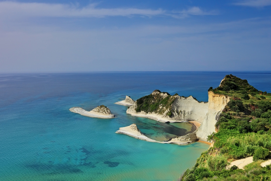North-West Corfu