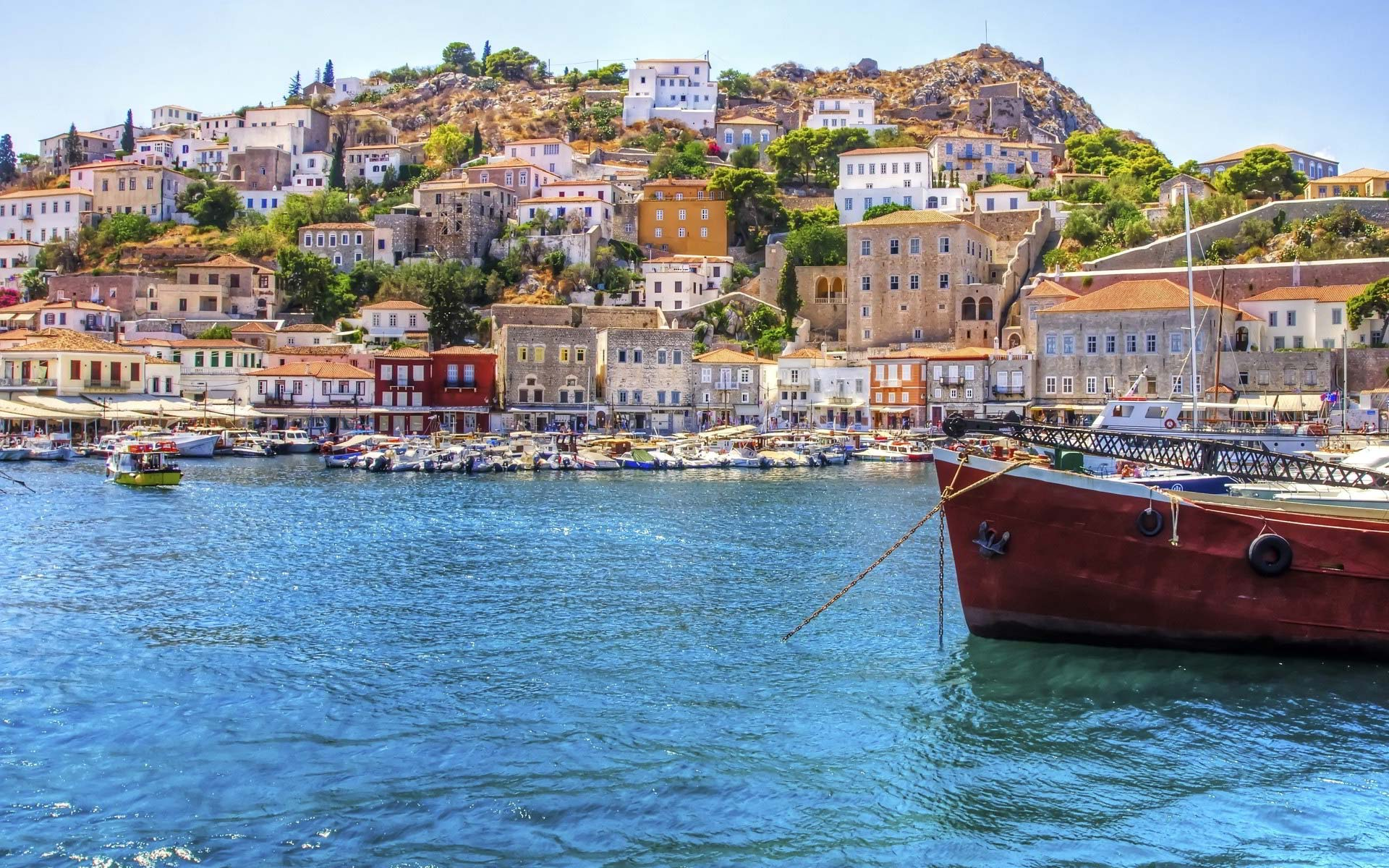Hydra, Poros & Aegina islands