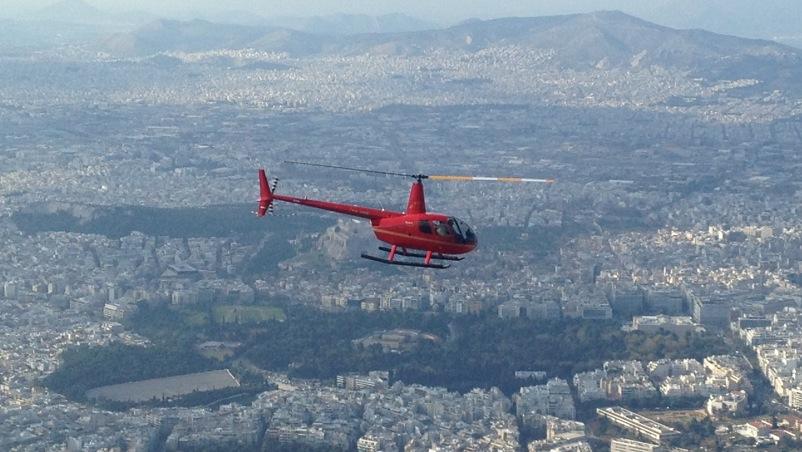 Voli turistici in elicottero da ATENE con Superior Air