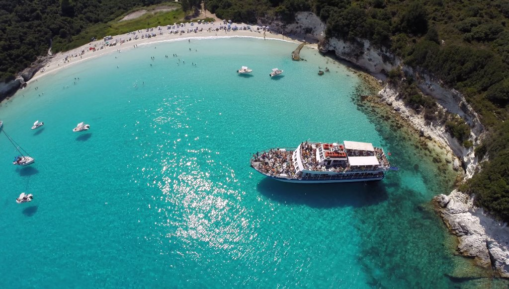 Paxos Antipaxos Day Cruise From Corfu Island Niakas Travel