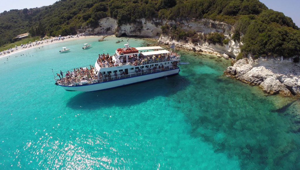 PAXOS & ANTIPAXOS   cruise from Corfu