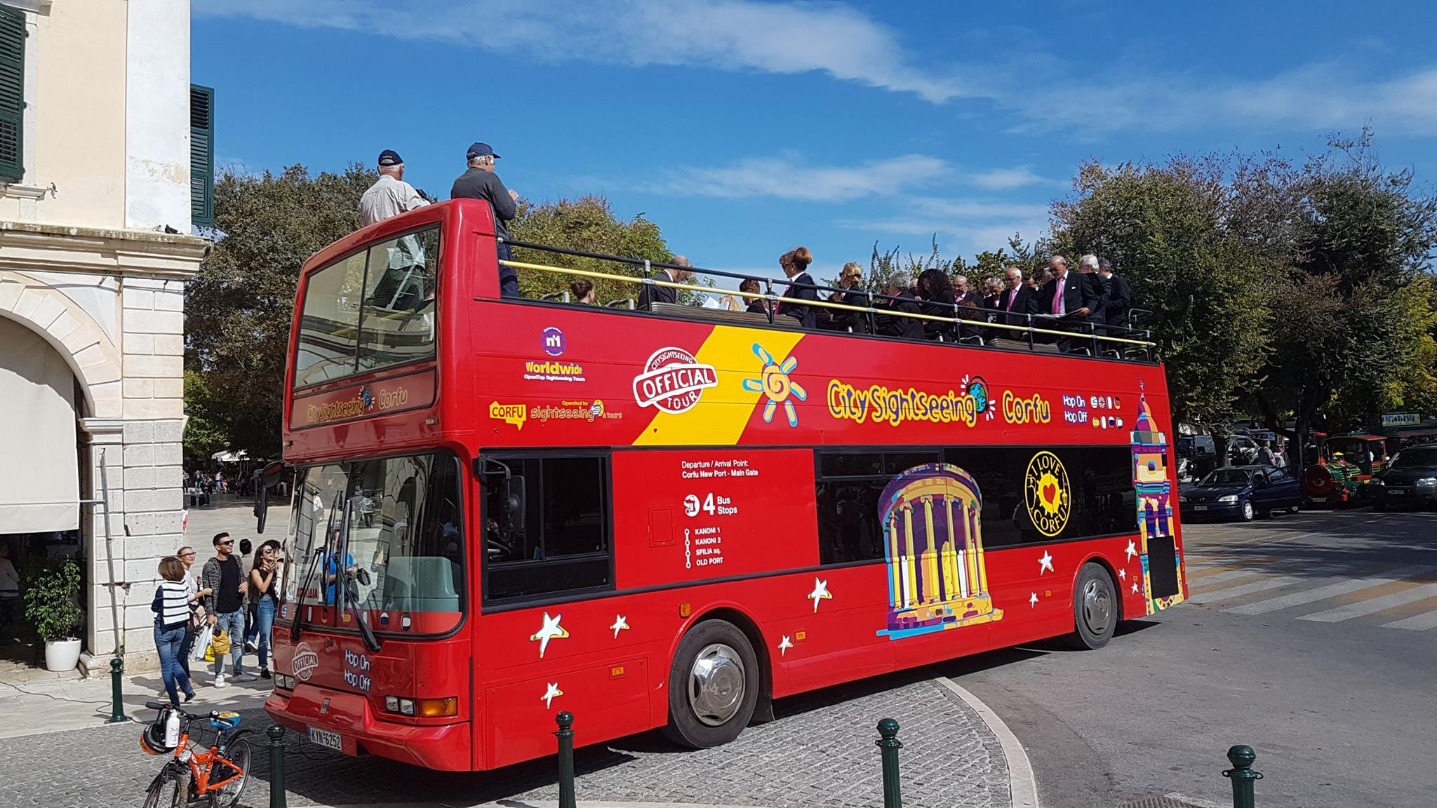CORFU - Open Top Bus