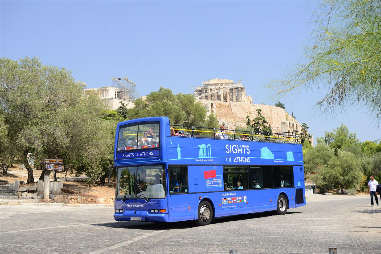 ATENE - Open Top Bus