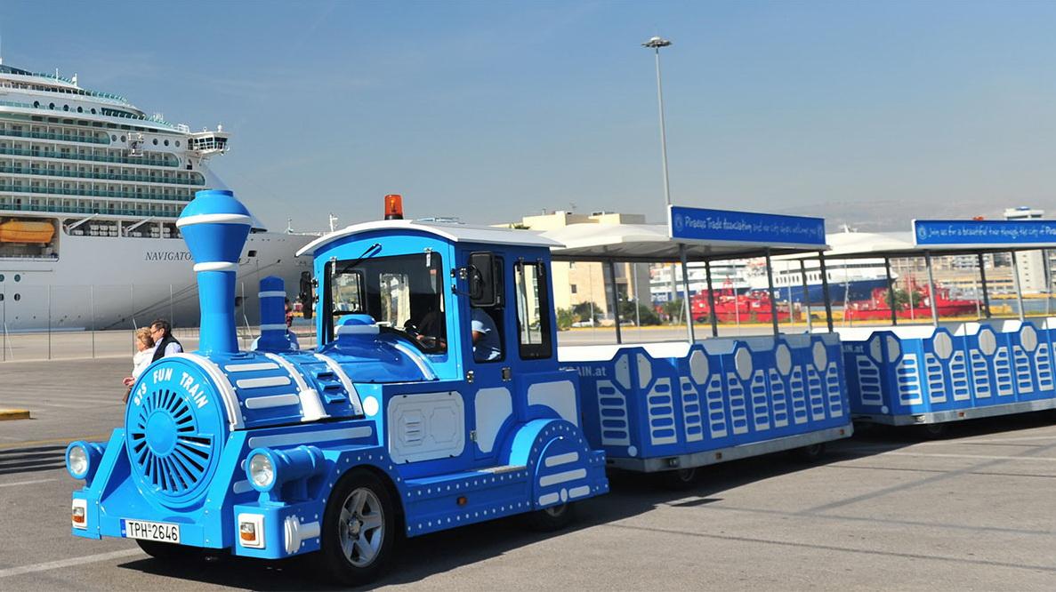 PIRAEUS - Blue Fun Train