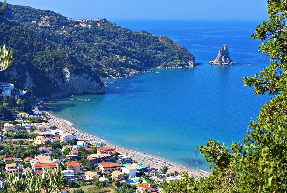 Ag Georgios Corfu Ag Georgios South  Corfu Island Greece