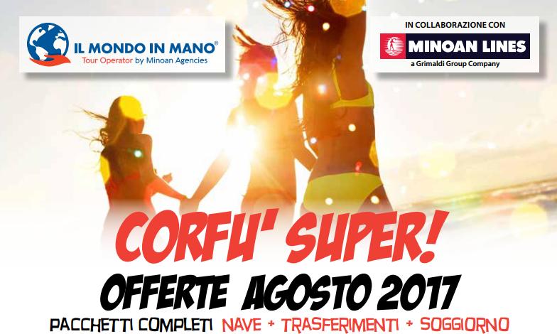 Corfù Super! Agosto 2017