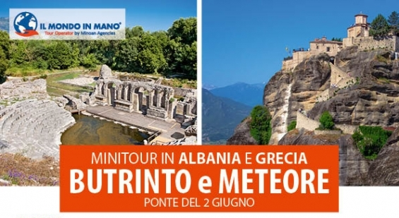 Minitour Butrinto (AL) Meteore è Sivota (GR)
