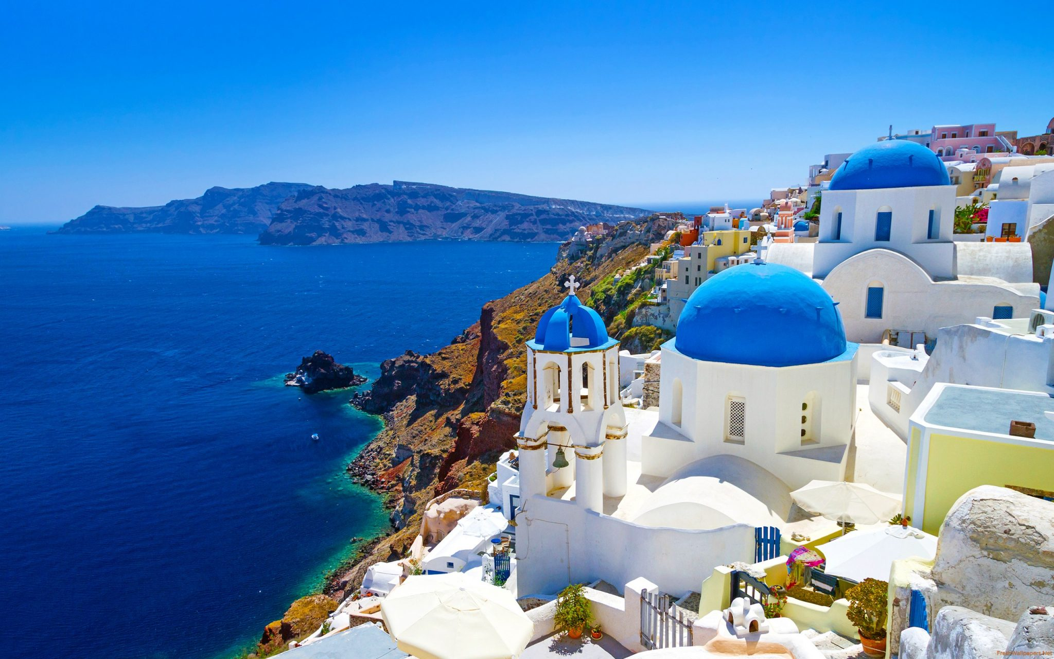 Mykonos, Santorini Crete and Patmos 4 days cruise