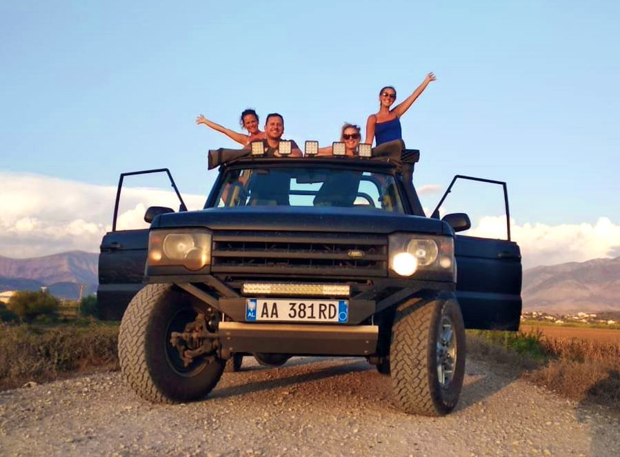 SARANDA JEEP TOUR