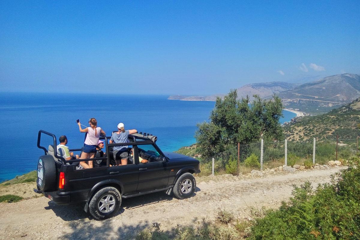 ALBANIA JEEP SAFARI 1day tour by Saranda Jeep