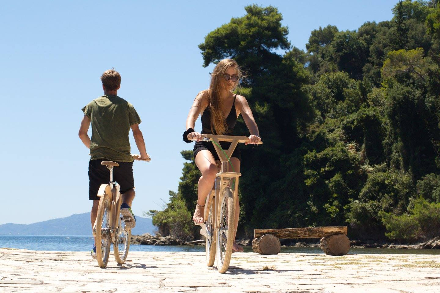 Ride the town of Corfu
