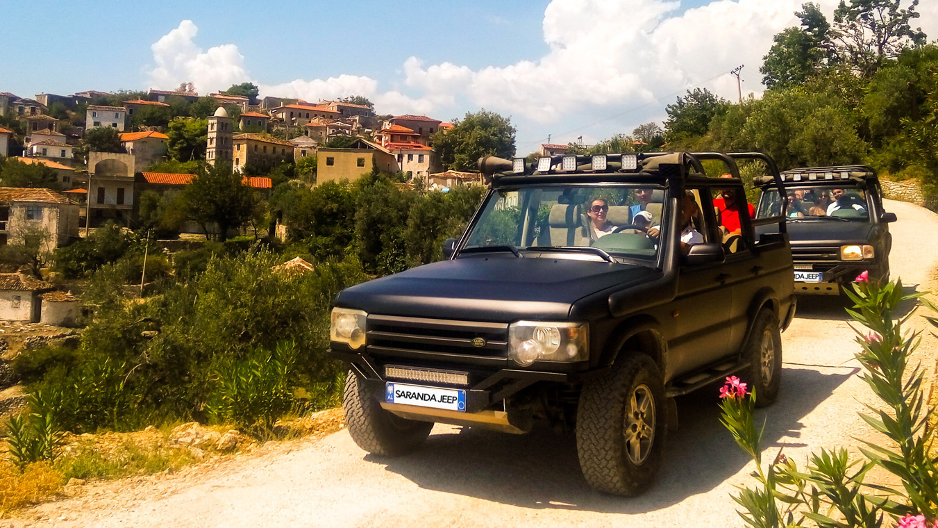 ALBANIA JEEP SAFARI-1day tour by Saranda Jeep