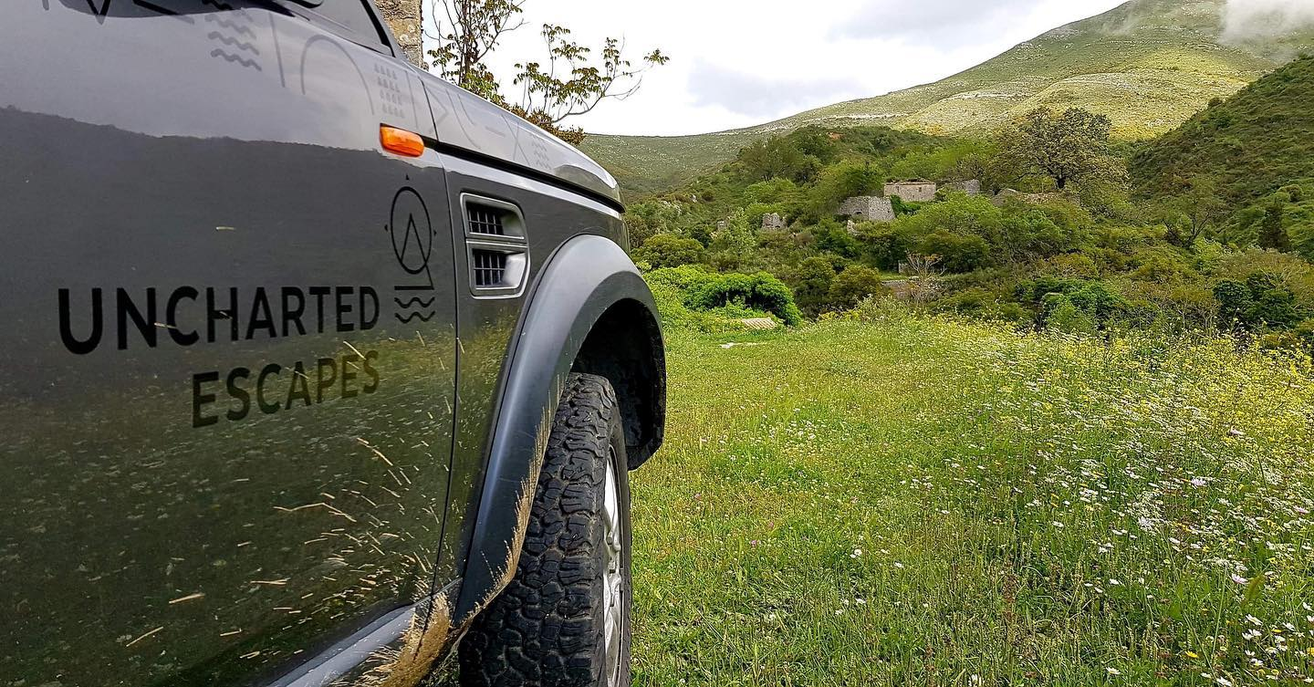 CORFU JEEP TOUR con Uncharted Escapes