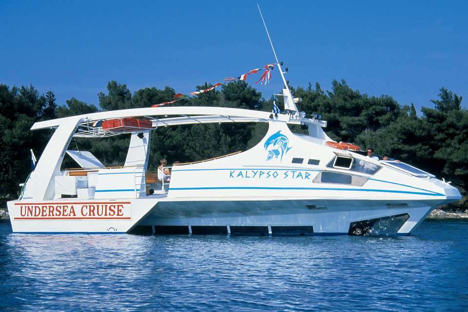 Kalypso Star Undersea Cruise @ Corfu old port
