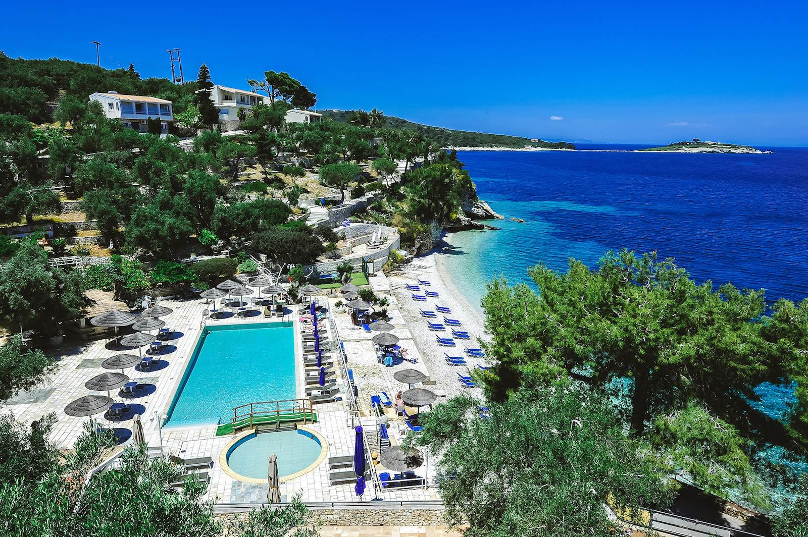Paxos beach resort hotel