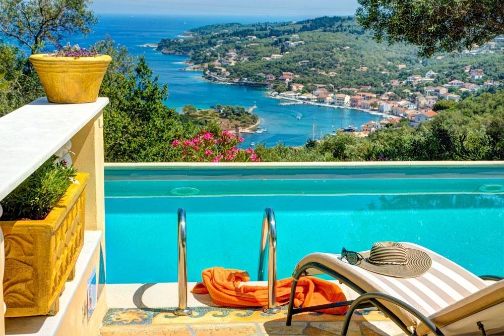 Paxos pool villas