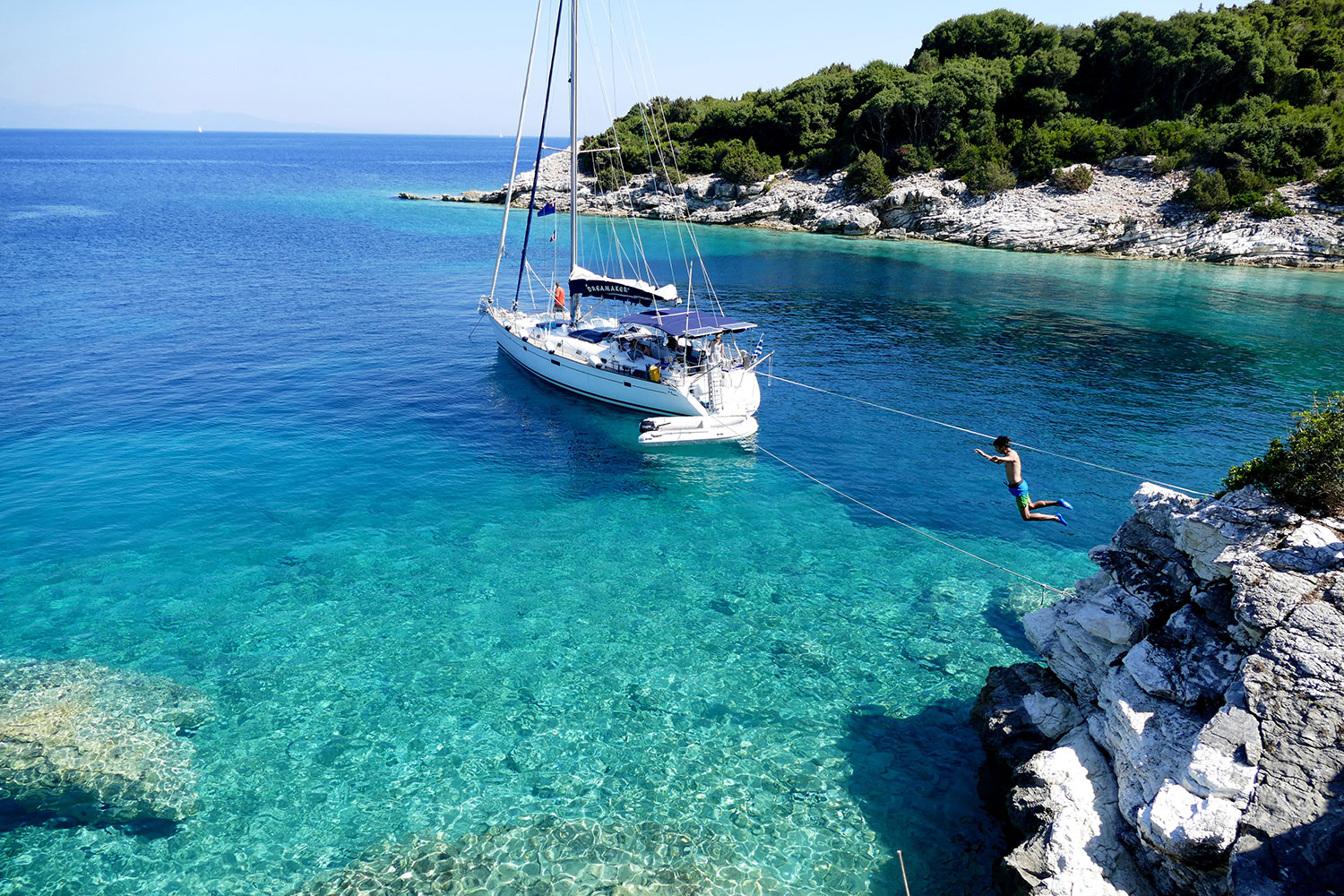 Sailing yacht DreaMaker - weekly charters from Corfu